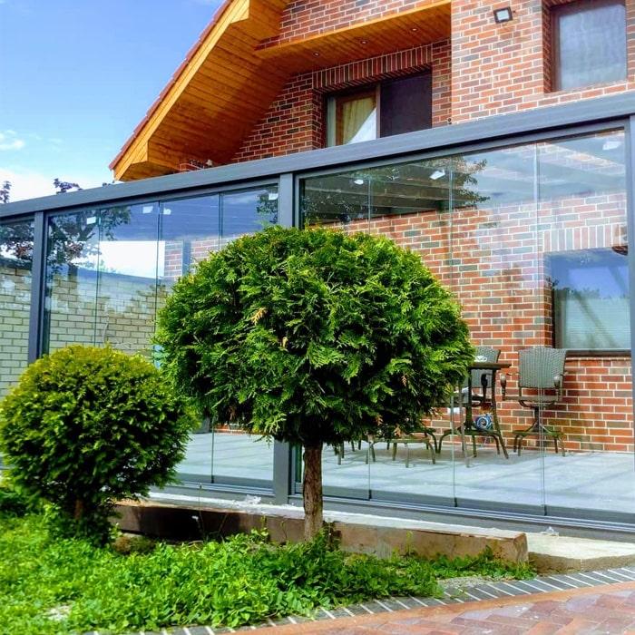 terase aluminiu sticla securizata
